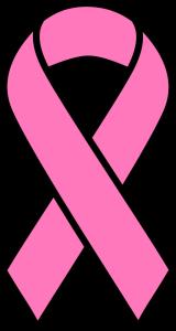 Pink White ribbon